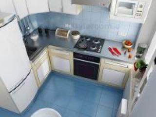 Как можно обставить кухню небольшого размера?