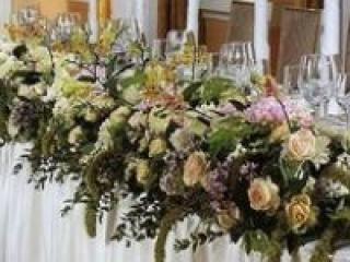 Советы по цветочному оформлению свадьбы