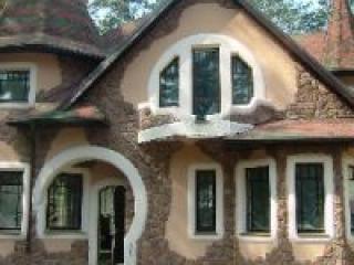 Отделка фасадов каменными пластерами Digretex