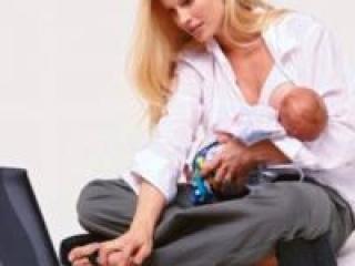 Работа для молодых мам