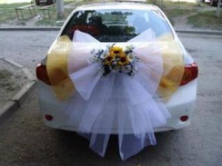 Как необычно украсить автомобиль на свадьбу