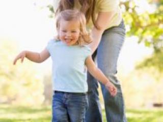 Играем с ребенком на прогулке
